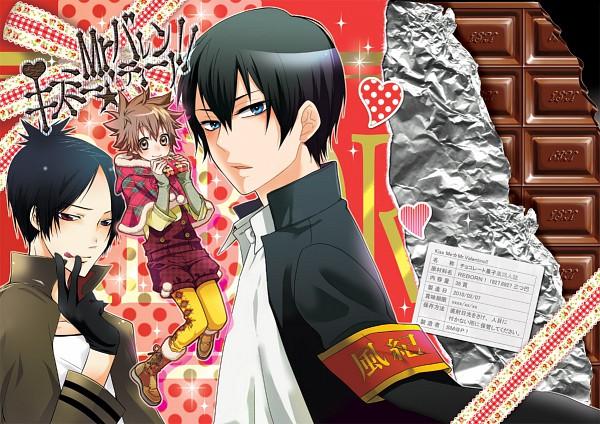 Tags: Anime, Zhu, Katekyo Hitman REBORN!, Hibari Kyoya, Sawada Tsunayoshi, Rokudou Mukuro, Fanart, Pixiv