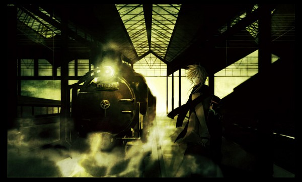 Tags: Anime, Sin Hitonatsu, Katekyo Hitman REBORN!, Sawada Tsunayoshi, Reborn, Train Station