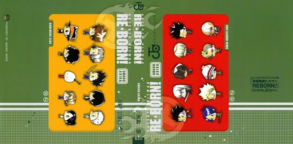 Tags: Anime, Amano Akira, Katekyo Hitman REBORN!, Miura Haru, Hibari Kyoya, I-Pin, Belphegor, Gola Mosca, Xanxus, Reborn, Sasagawa Ryohei, Rokudou Mukuro, Leviathan (Katekyo Hitman REBORN!)