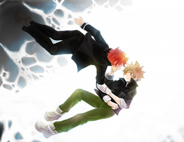 Tags: Anime, Katekyo Hitman REBORN!, Kozato Enma, Sawada Tsunayoshi