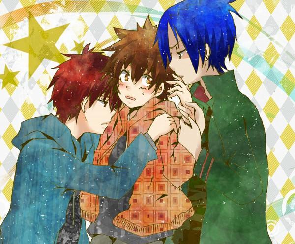 Tags: Anime, Katekyo Hitman REBORN!, Kozato Enma, Rokudou Mukuro, Sawada Tsunayoshi, Artist Request
