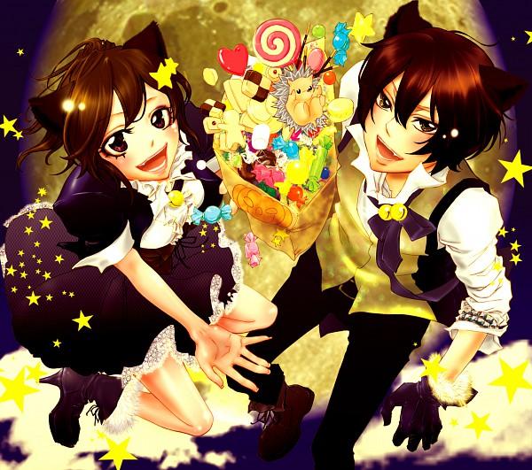 Tags: Anime, Pixiv Id 532944, Katekyo Hitman REBORN!, Hibird, Roll (KHR), Miura Haru, Hibari Kyoya, Hedgehog