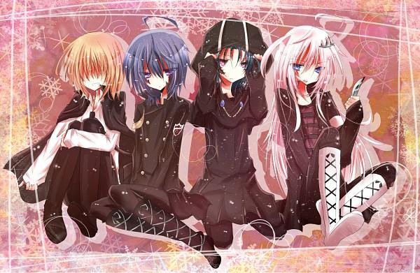 Tags: Anime, Potten, Katekyo Hitman REBORN!, Xanxus, Superbi Squalo, Belphegor, Mammon, Xanxus (Cosplay), Mammon(Khr)(Cosplay), Emblem, Superbi Squalo (Cosplay), Belphegor (Cosplay), Fanart