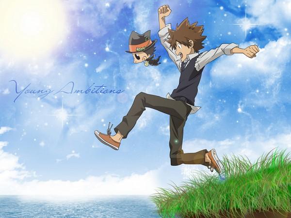 Tags: Anime, Katekyo Hitman REBORN!, Reborn, Sawada Tsunayoshi