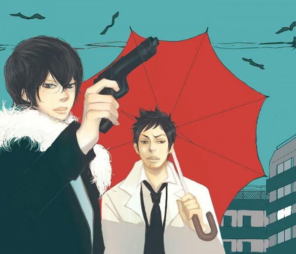 Tags: Anime, Katekyo Hitman REBORN!, Hibari Kyoya, Yamamoto Takeshi, Pixiv