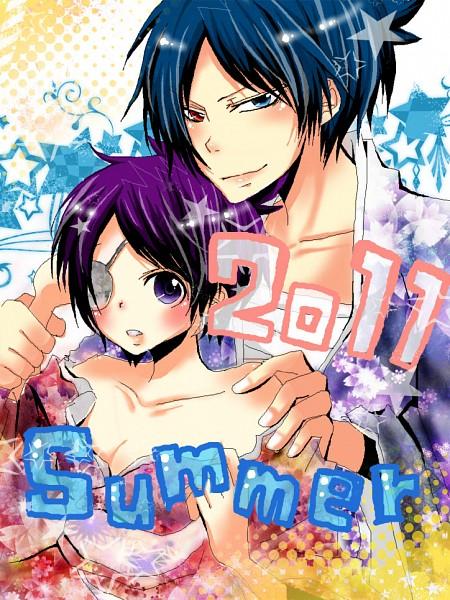 Tags: Anime, Katekyo Hitman REBORN!, Chrome Dokuro, Rokudou Mukuro, Pixiv, MukuChrome