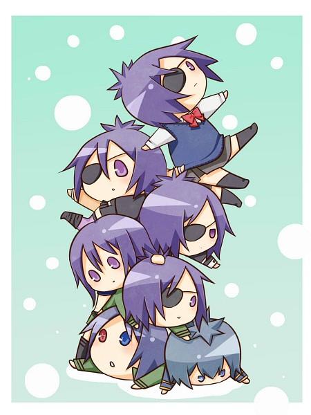 Tags: Anime, Pixiv Id 2827186, Katekyo Hitman REBORN!, Demon Spade, Rokudou Mukuro, Chrome Dokuro