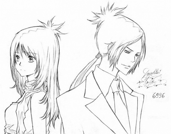 Tags: Anime, Katekyo Hitman REBORN!, Rokudou Mukuro, Chrome Dokuro, Anehiri, Pineapple Head, Fanart, deviantART