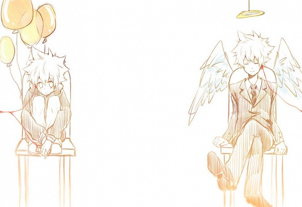 Tags: Anime, Katekyo Hitman REBORN!, Vongola Primo Giotto, Sawada Tsunayoshi