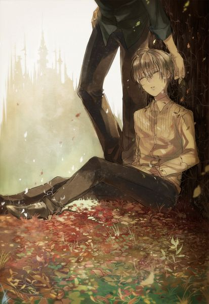 Tags: Anime, Akua, Katekyo Hitman REBORN!, Alaude, Primo Cavallone, Pixiv, Mobile Wallpaper, Fanart