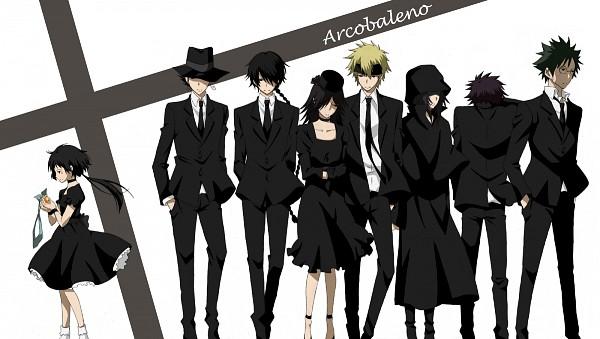 Tags: Anime, Harui, Katekyo Hitman REBORN!, Reborn, Yuni, Colonnello, Skull (KHR), Fon, Verde, Lal Mirch, Mammon, Funeral, Facebook Cover