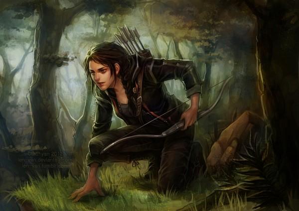 Tags: Anime, Len-yan, The Hunger Games, Katniss Everdeen, Fanart, Fanart From DeviantART, deviantART