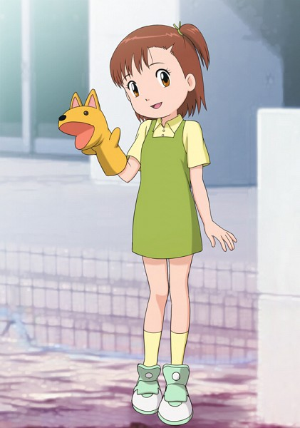 Katou Juri - Digimon Tamers