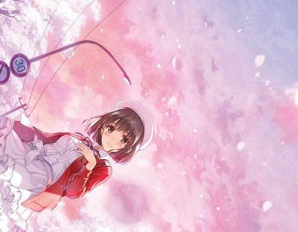 Tags: Anime, Misaki Kurehito, A-1 Pictures, Saenai Heroine no Sodatekata, Saenai Heroine no Sodatekata Fine, Katou Megumi, Official Art