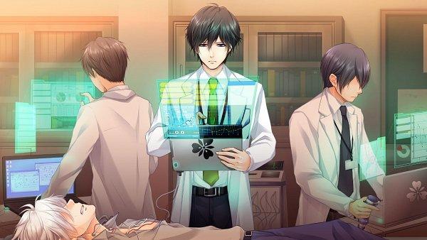 Tags: Anime, Gogo-chan, A'sRing, Enkan no Memoria, Katsuki Ren, Katsuki Minato, Official Art, CG Art