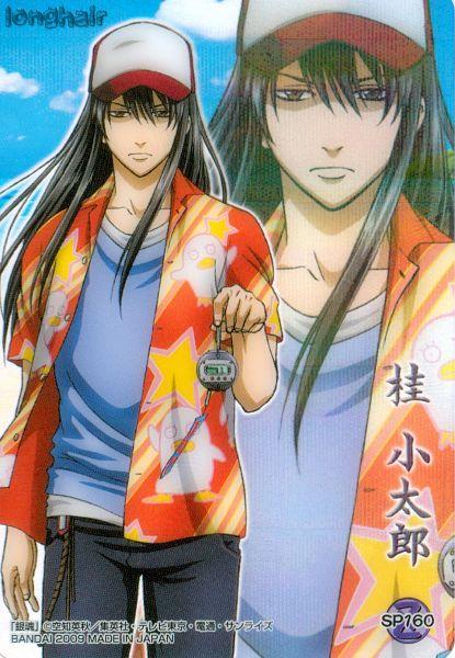 Tags: Anime, Gintama, Katsura Kotaro, Ko Elizabeth Print, Scan, Mobile Wallpaper, Official Art