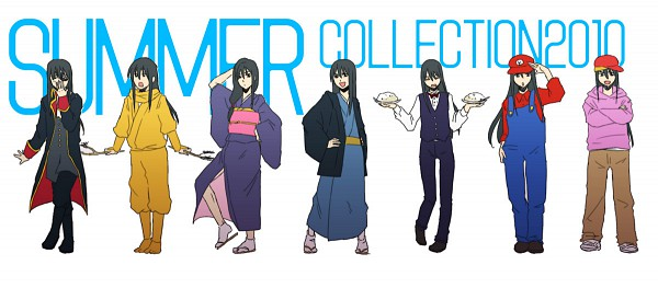 Tags: Anime, Kiyomura, Gintama, Katsuo (Gin Tama), Zurako, Yellow Curry Ninja, Captain Katsura, Katsura Kotaro, Dj Ozura, Fanart, Pixiv, Fanart From Pixiv