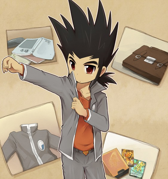 Tags: Anime, Raq, Link Joker Hen, Cardfight!! Vanguard, Katsuragi Kamui, School Uniform (Hitsue Middle School), Pixiv, Fanart