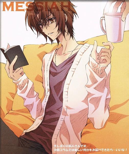 Tags: Anime, CARNELIAN, Messiah - Paranoia Paradox, Messiah, Katsuragi Takuto, Crease, Scan