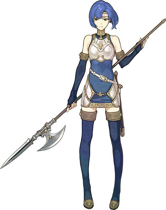 Katua (Fire Emblem) (Catria (fire Emblem)) - Fire Emblem: Monshou no Nazo