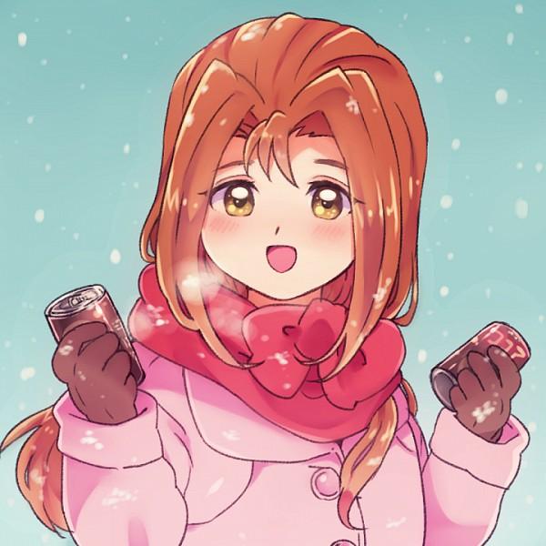 Tags: Anime, Pixiv Id 181399, Yu-Gi-Oh!, Yu-Gi-Oh! Duel Monsters, Kawai Shizuka, Canned Drink, Twitter, Fanart, PNG Conversion, Serenity Wheeler