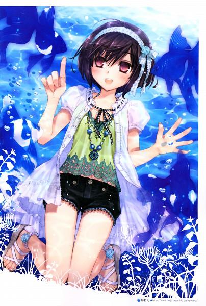 Tags: Anime, Kawaku, Megami Creators Vol.16, Pixiv, Original, Mobile Wallpaper