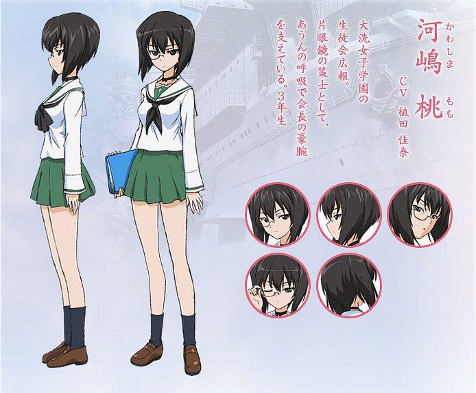 Kawashima Momo - GIRLS und PANZER