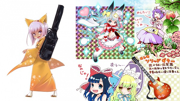 Tags: Anime, Esumeta, BROCCOLI, End Breaker!, Kayatsuhime Hananoki, Hakurei Reimu (Cosplay), Touhou (Cosplay), Character Sheet