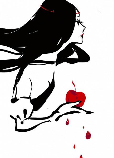 Tags: Anime, Kaytseki, Snow White and the Seven Dwarfs, Snow White, Slender, deviantART, Mobile Wallpaper, Pixiv