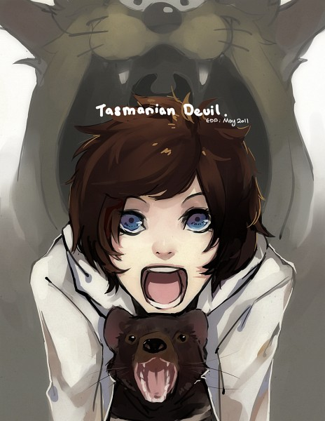 Tags: Anime, Kaytseki, Tasmanian Devil, deviantART, Original