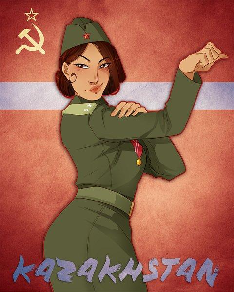 Kazakhstan - Axis Powers: Hetalia
