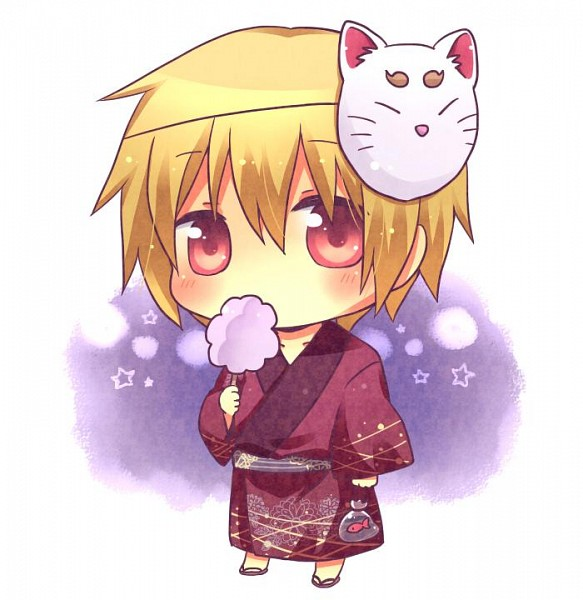 Tags: Anime, Pixiv Id 762258, IDEA FACTORY, Hakuouki Shinsengumi Kitan, Kazama Chikage, Cotton Candy, Fanart, Pixiv, Fanart From Pixiv