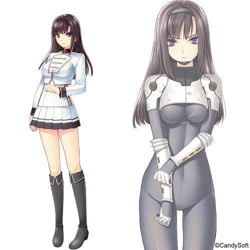 Kazamatsuri Shino - Gun Knight Girl