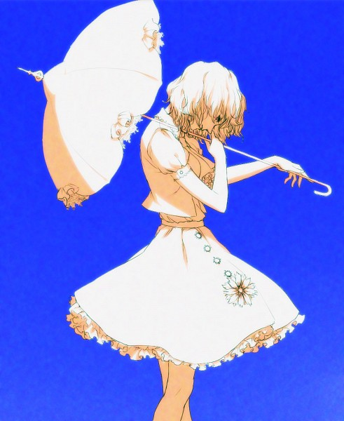 Tags: Anime, Egawa Satsuki, Touhou, Kazami Yuuka, Fanart From Pixiv, Fanart, Pixiv, Yuuka Kazami