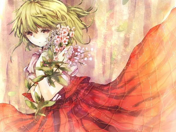 Tags: Anime, Kirisa (Yuki), Touhou, Kazami Yuuka, Pixiv, Wallpaper, Fanart From Pixiv, Fanart, Yuuka Kazami