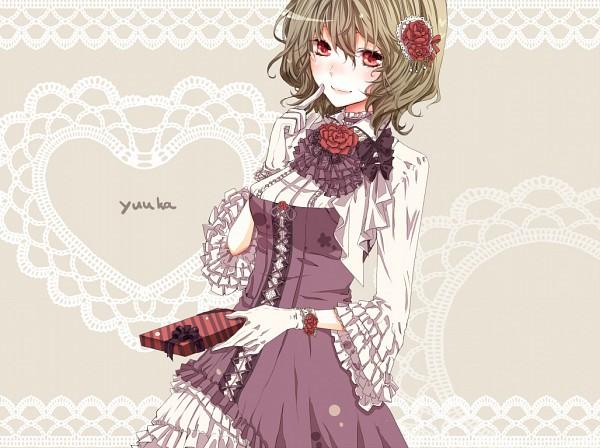 Tags: Anime, Karunabaru, Touhou, Kazami Yuuka, Chocolate Box, Pixiv, Fanart From Pixiv, Fanart, Yuuka Kazami