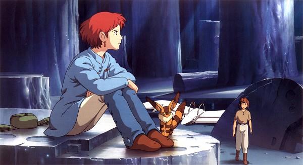 Tags: Anime, Studio Ghibli, Kaze no Tani no Nausicaä, Asbel, Teto, Nausicaa, Official Art, Scan, Nausicaa Of The Valley Of The Wind