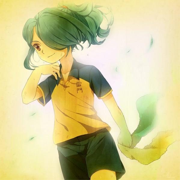 Tags: Anime, Pixiv Id 136696, Inazuma Eleven, Kazemaru Ichirouta, Pixiv, Fanart, Ichirouta Kazemaru