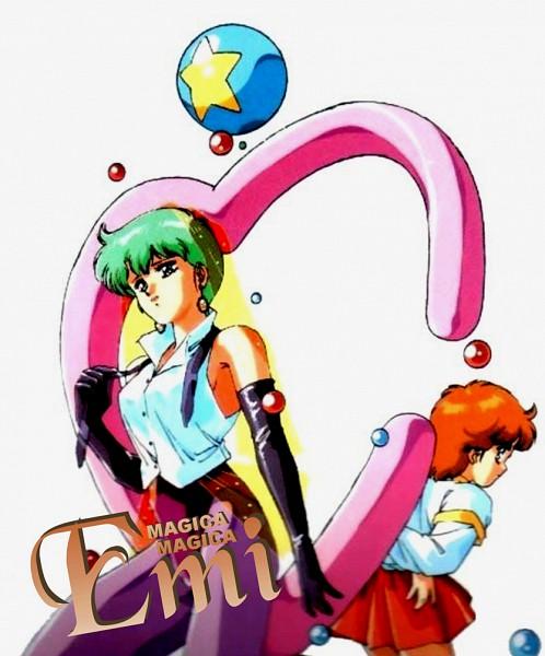 Tags: Anime, Studio Pierrot, Mahou no Star Magical Emi, Kazuki Mai, Magical Emi, Artist Request