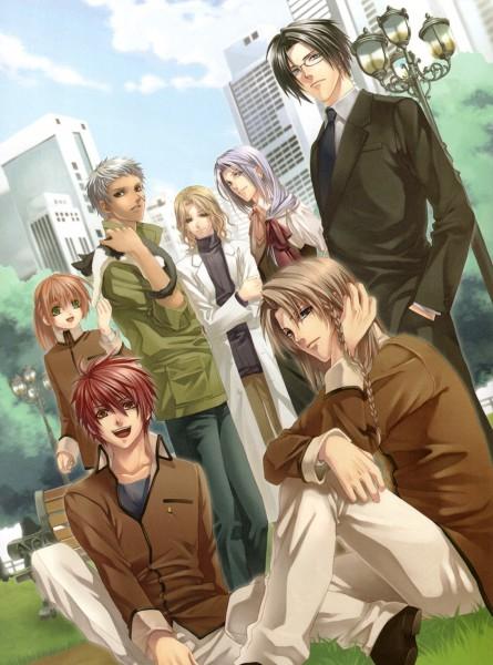 Tags: Anime, Kazuki Yone, Hoshi no Furu Koku, Asakura Yusuke, Kanamori Aoi, Kanamori Kyou, Arima Toshi, Light Pole