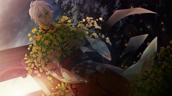 Tags: Anime, Yomi (Pixiv390297), Ken ga Kimi, Facebook Cover, CG Art