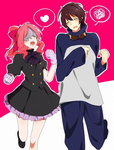 Tags: Anime, Yodare, Kekkai Sensen, Leonardo Watch, Aligura (Kekkai Sensen), PNG Conversion