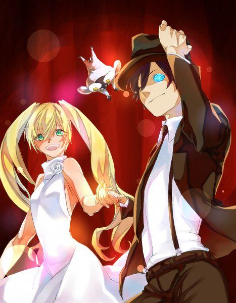 Tags: Anime, Pixiv Id 12742422, Kekkai Sensen, White (Kekkai Sensen), Sonic Speed Monkey, Leonardo Watch, PNG Conversion