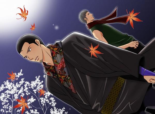 Tags: Anime, Pixiv Id 2011665, Kekkaishi, Masamori Sumimura, Yukimasa, Datk