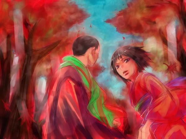 Tags: Anime, Pixiv Id 291690, Kekkaishi, Kasuga Yomi, Masamori Sumimura