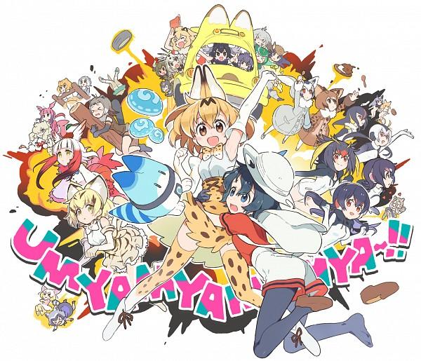 Tags: Anime, Poo (Artist), Kemono Friends, Panther Chameleon (Kemono Friends), Kaban (Kemono Friends), Shoebill (Kemono Friends), African Porcupine (Kemono Friends), Royal Penguin (Kemono Friends), Moose (Kemono Friends), Sand Cat (Kemono Friends), Margay (Kemono Friends), Humboldt Penguin (Kemono Friends), Crested Ibis (Kemono Friends)
