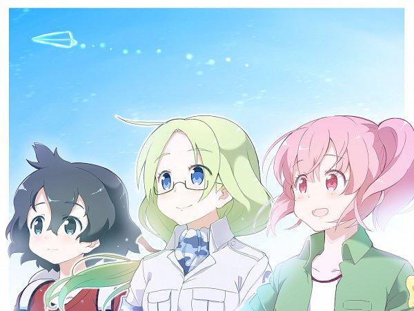 Tags: Anime, Pixiv Id 117512, Kemono Friends, Mirai (Kemono Friends), Kaban (Kemono Friends), Fanart From Pixiv, Pixiv, Fanart
