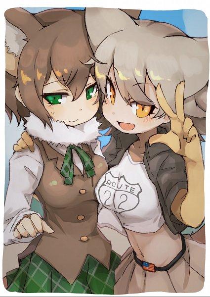 Tags: Anime, Pixiv Id 300488, Kemono Friends, Coyote (Kemono Friends)