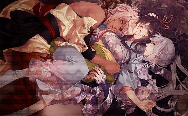 Tags: Anime, Yomi (Pixiv390297), Ken ga Kimi, Kayo (Ken ga Kimi), Kei (Ken ga Kimi), Kuroba Saneaki, Official Art, CG Art