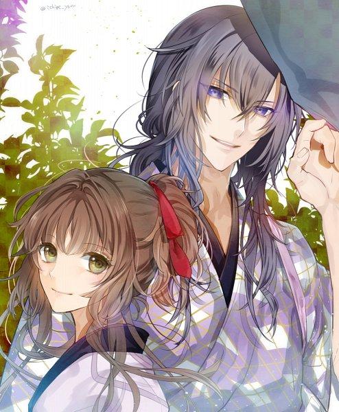 Tags: Anime, Ichige Yoru, Ken ga Kimi, Tokugawa Iemitsu (Ken ga Kimi), Kayo (Ken ga Kimi), Fanart